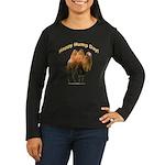 Happy Hump Day! Women's Long Sleeve Dark T-Shirt