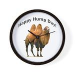 Happy Hump Day! Wall Clock