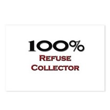 100 Percent Refuse Collector Postcards (Package of