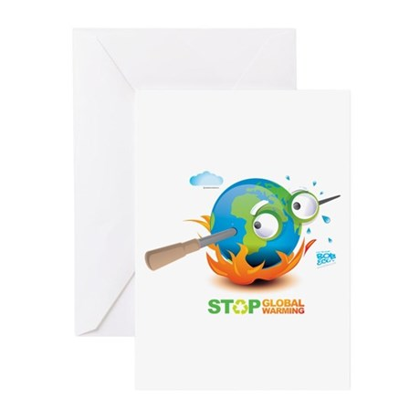Earth Skewer Greeting Cards (Pk of 20)