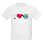 I Love Earth t-shirt Kids Light T-Shirt