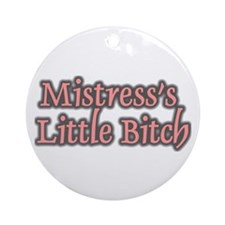 """Mistress's Little Bitch"" Tag"