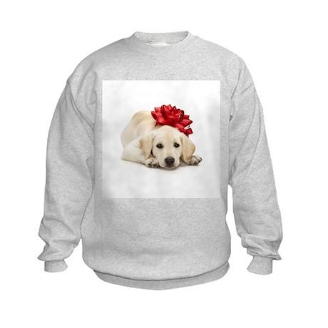 Yellow Lab Puppy Kids Sweatshirt