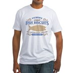 Yummy Fish Biscuits Fitted T-Shirt