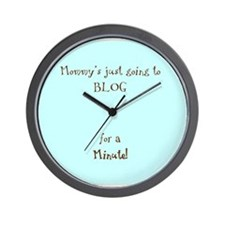 Bloggy Wall Clock