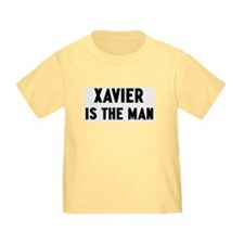 Xavier is the man T