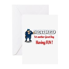 Cops are Tops. Greeting Cards (Pk of 20)