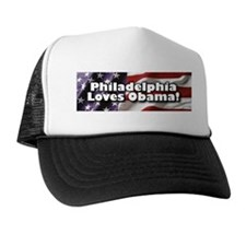 Philly Loves Obama Trucker Hat