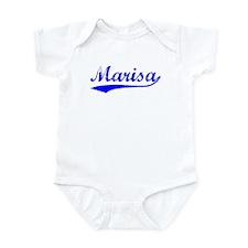 Vintage Marisa (Blue) Infant Bodysuit