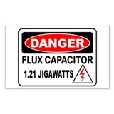 Danger FC Rectangle Bumper Stickers