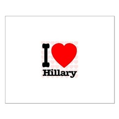 I Love Hillary Posters