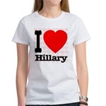 I Love Hillary Women's T-Shirt