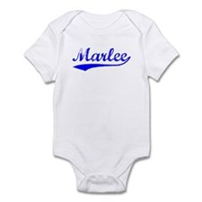 Vintage Marlee (Blue) Infant Bodysuit