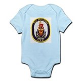 USS McCLUSKY Infant Bodysuit