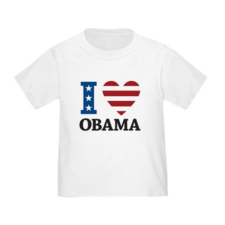 I Love Obama Toddler T-Shirt