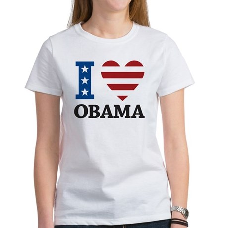 I Love Obama Women's T-Shirt