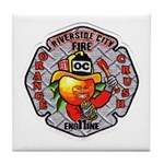 Riverside FD Engine 11 Tile Coaster