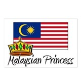 Malaysian Princess Postcards (Package of 8)