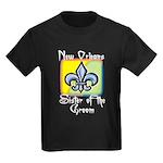 New Orleans Sister of the Groom Kids Dark T-Shirt