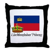 Liechtensteiner Princess Throw Pillow