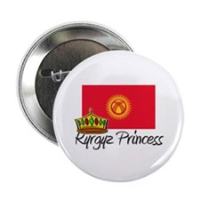 "Kyrgyz Princess 2.25"" Button"