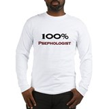 100 Percent Psephologist Long Sleeve T-Shirt