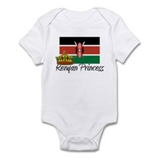 Kenyan Princess Infant Bodysuit