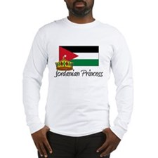 Jordanian Princess Long Sleeve T-Shirt