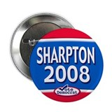 2008 Al Sharpton Text 2.25&quot; Button (10 pack)