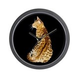 Cute Bengals Wall Clock