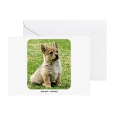 Swedish Vallhund Puppy 9Y165D-173 Greeting Card