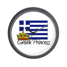 Greek Princess Wall Clock