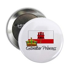 "Gibraltar Princess 2.25"" Button (10 pack)"