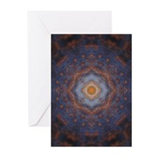 Blue Cross Mandala Greeting Cards (Pk of 10)