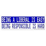 Anti-Liberal Bumper Sticker