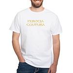 Ferocia Courtura White T-Shirt