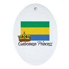Gabonese Princess Oval Ornament