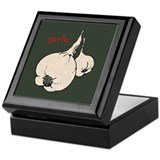 Garlic Green Keepsake Box