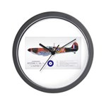 Supermarine Spitfire Aircraft Wall Clock