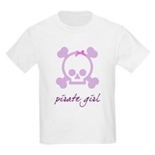 Pirate girl purple T-Shirt