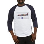 Supermarine Spitfire Aircraft Baseball Jersey