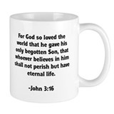 God's Love John 3:16 Small Mug