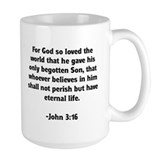 God's Love John 3:16 Mug