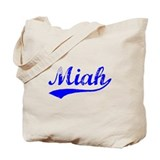 Vintage Miah (Blue) Tote Bag
