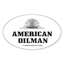 American Oilman Oval Decal