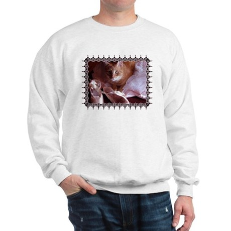 Cat and Ballet Slippers Sweatshirt