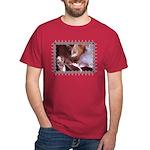 Cat and Ballet Slippers Dark T-Shirt
