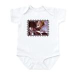 Cat and Ballet Slippers Infant Bodysuit