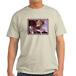 Cat and Ballet Slippers Light T-Shirt