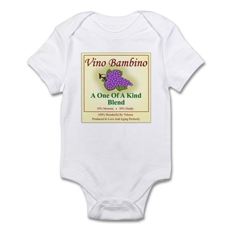 Vino Bambino Wine Label - Infant Bodysuit